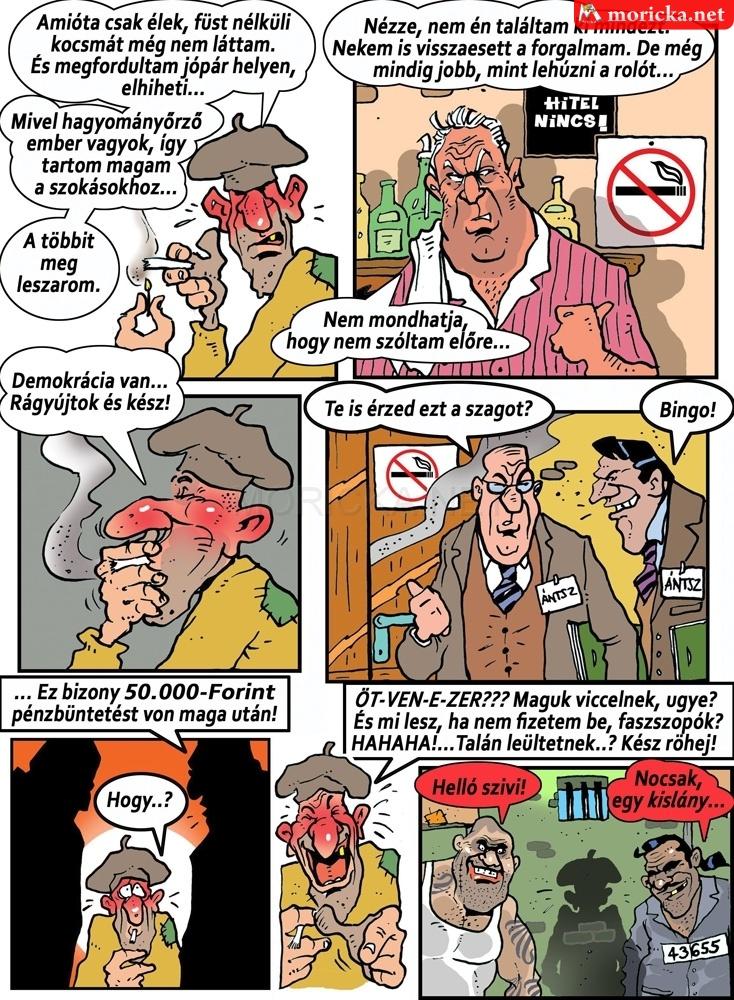 Genyo Pista - Dohányzási tilalom 2. rész