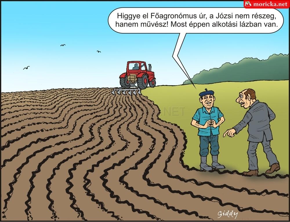 Traktoros művész