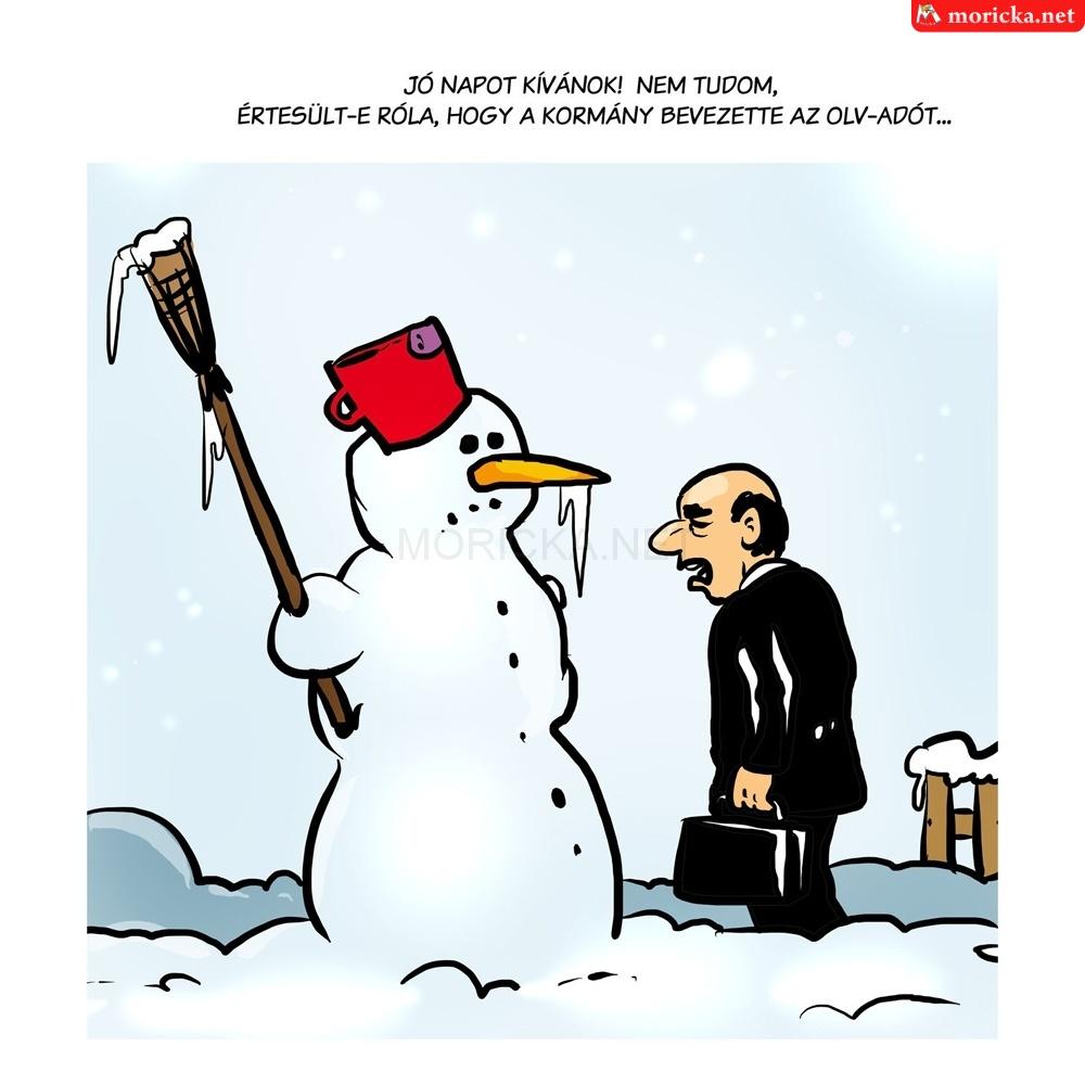 Jó napot - hóember