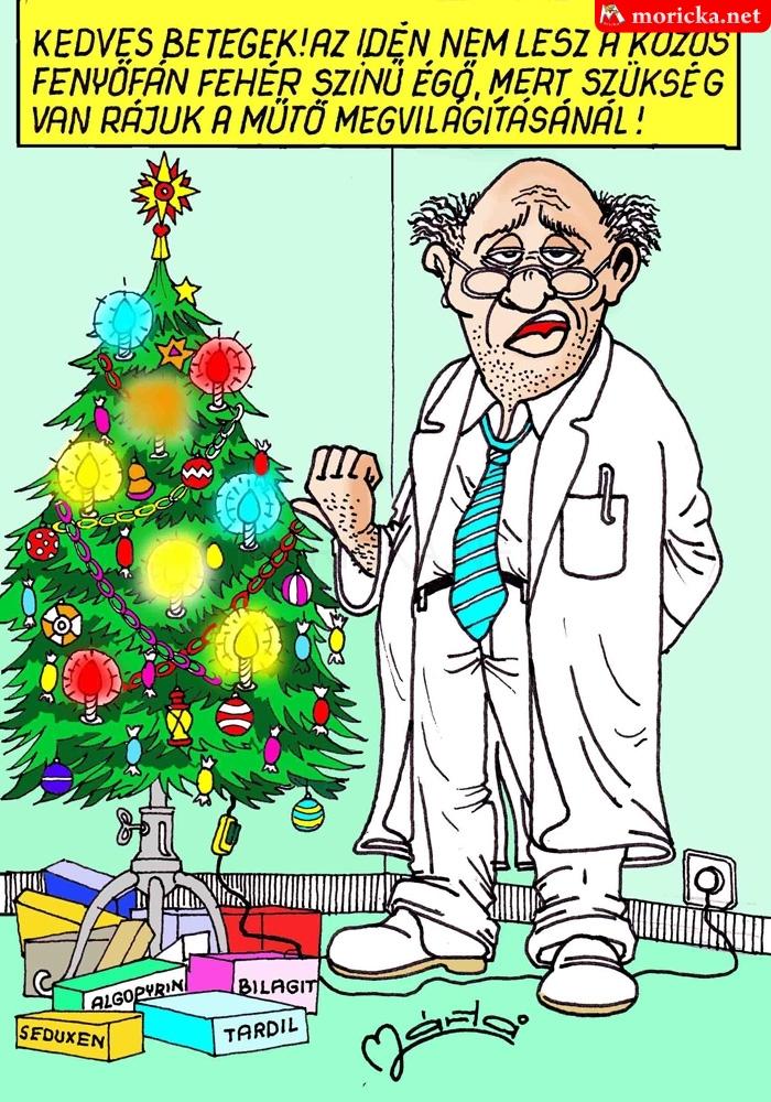 Kedves betegek - doki karácsony