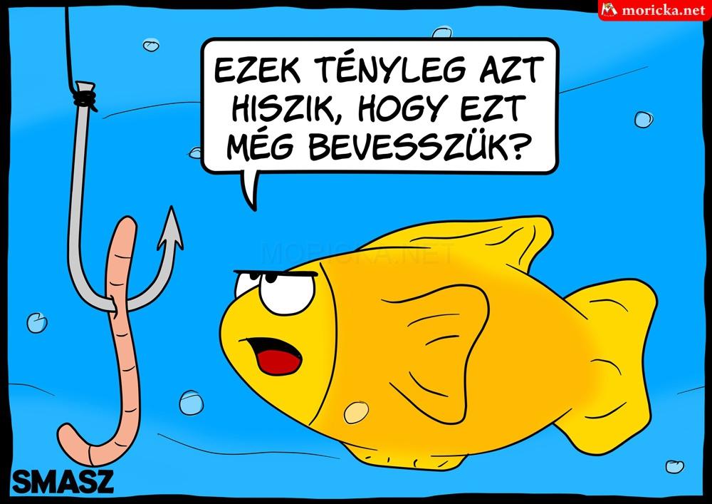 Hal horgász vicc