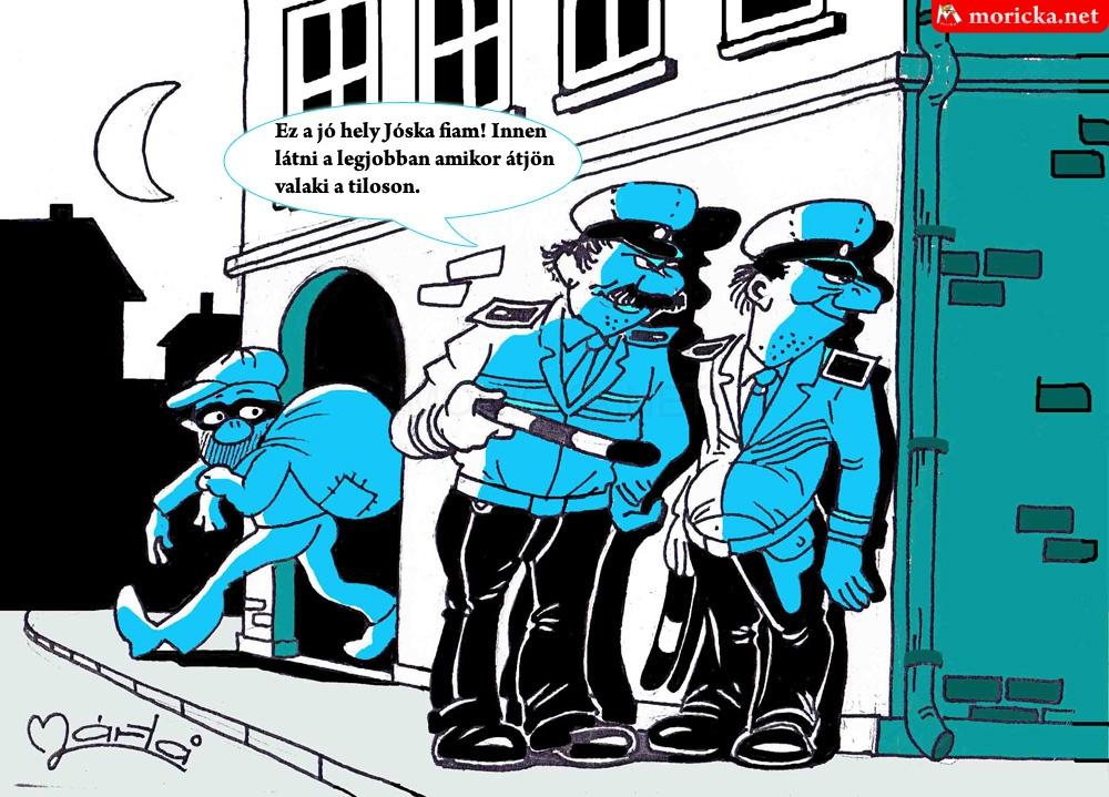 Rendőrök akcióban