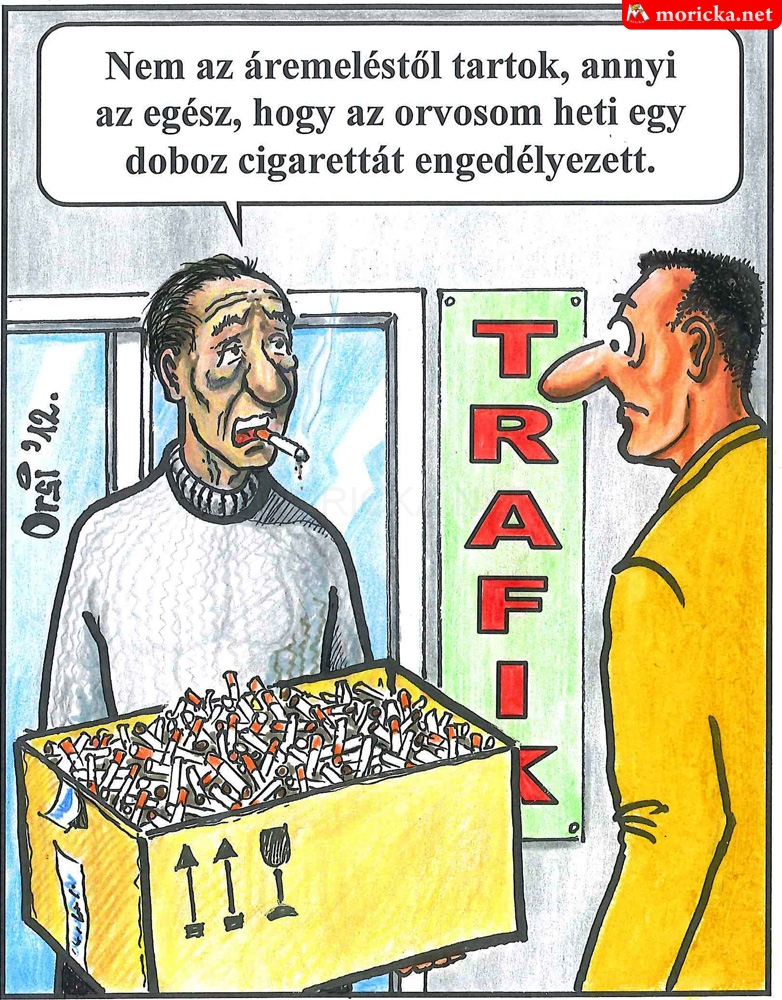 Egy doboz cigi